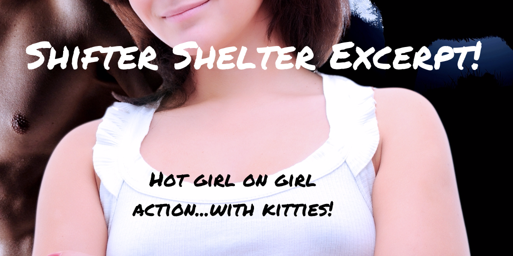Girl on Girl Action with Cats…